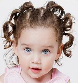 Rambut anak lucu