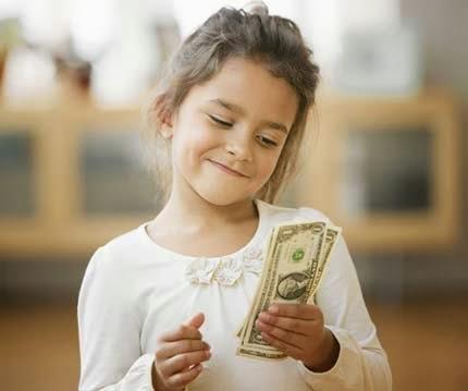 Uang jajan anak