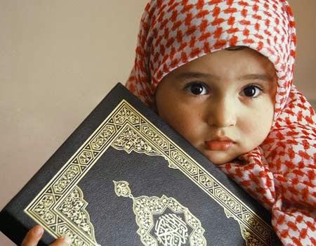 Anak kecil muslimah lucu