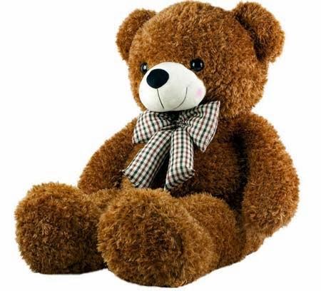 Boneka beruang lucu untuk bayi