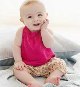 perkembangan bayi 5 bulan