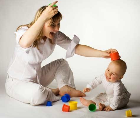 4 permainan sederhana ini membuat bayi cerdas